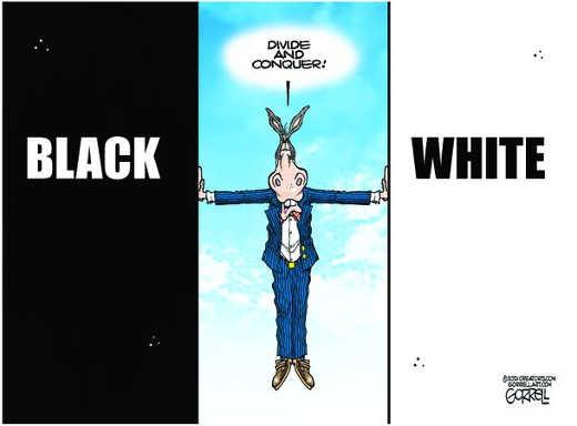 democrats divide black white and conquer