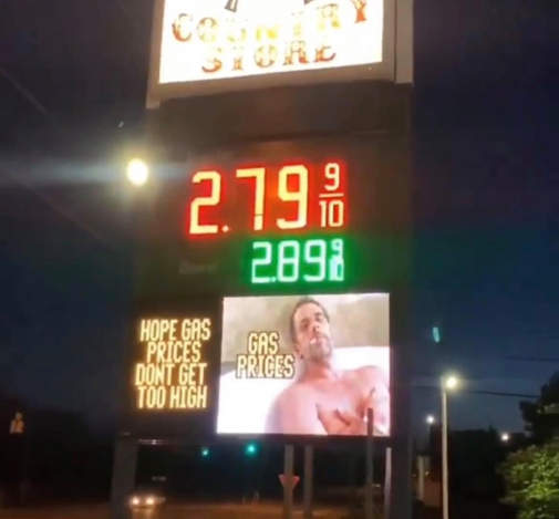 gas prices sign hunter biden hope not too high