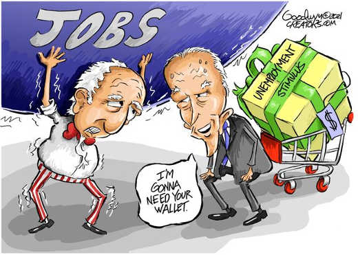 joe biden unemployment stimulus wallet jobs taxpayer