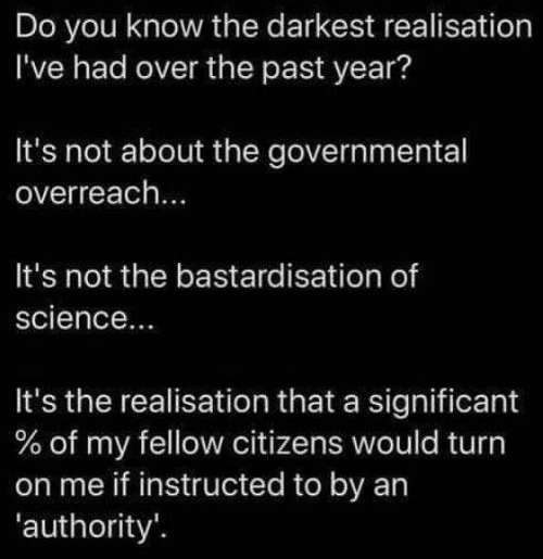 message dark realization significant citizens turn if instructed by authority