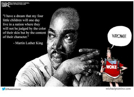 quote mlk i have a dream woke wrong