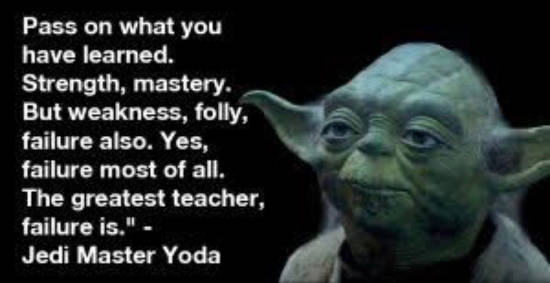quote yoda pass on what you have learned strength mastery failure greatest teacher