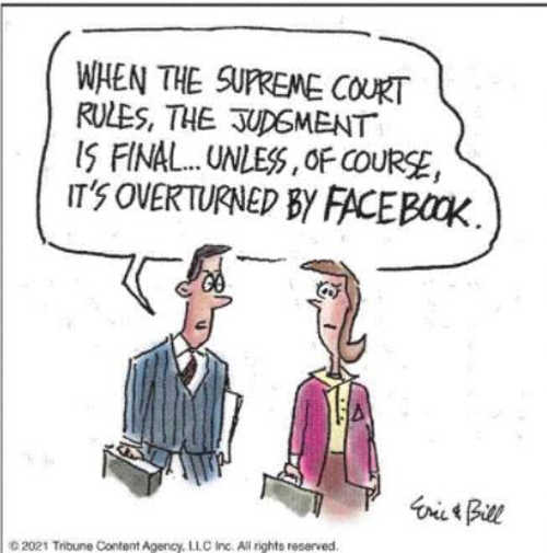 supreme court rule final unless overruled by facebook