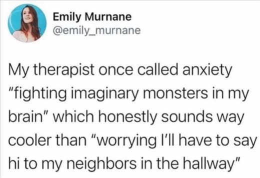 tweet therapist emily murnane therapist anxiety neighbors