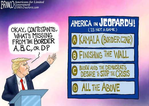 biden kamala jeopardy border no desire to stop crisis