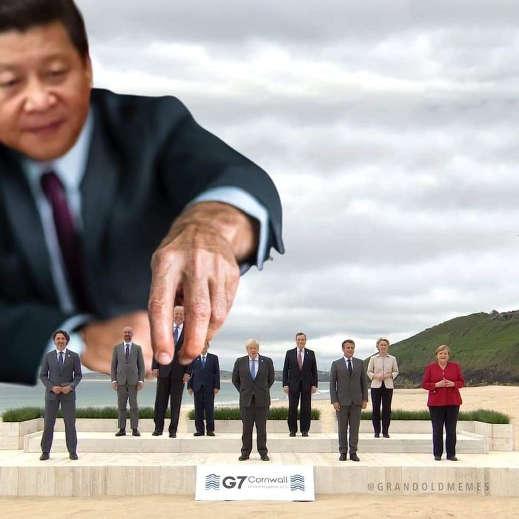 china g7 chess pieces joe biden boris johnson merkel