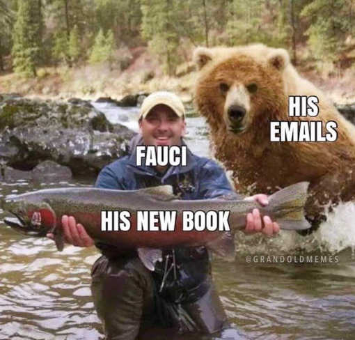 fauci his new book fisherman bear his emails