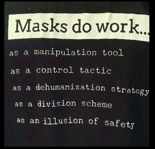 masks do work manipulation tool control division illusion of safety