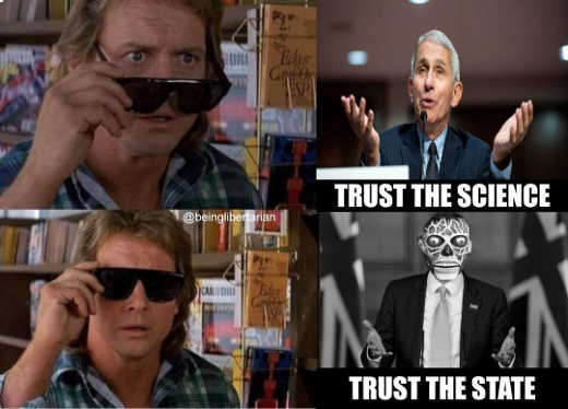 they live trust the science sunglasses state