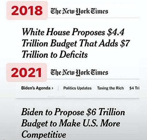 white house budget trump vs biden new york times