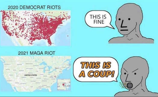 democrats 2020 protests fine 1 maga riot coup