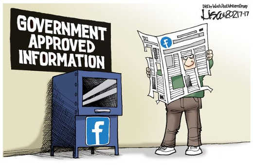 government approved information facebook holes
