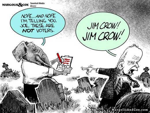 graveyard joe im telling you not voters biden jim crow jim crow