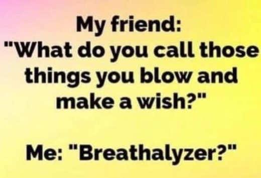 make a wish and blow breathalyzer