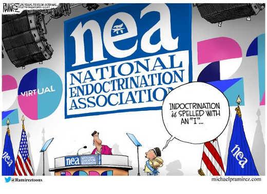 nea national indoctrination association
