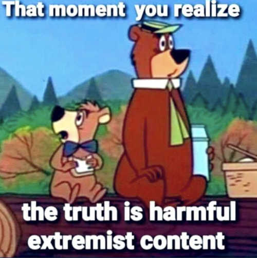 yogi-realize-truth-is-facebook-extremist