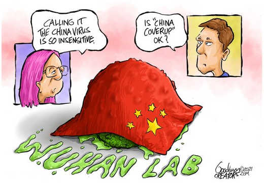 calling it china virus insensitive wuhan coverup