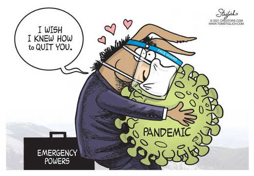 democrats face guard emergency powers wish knew how to quit you covid pandemic