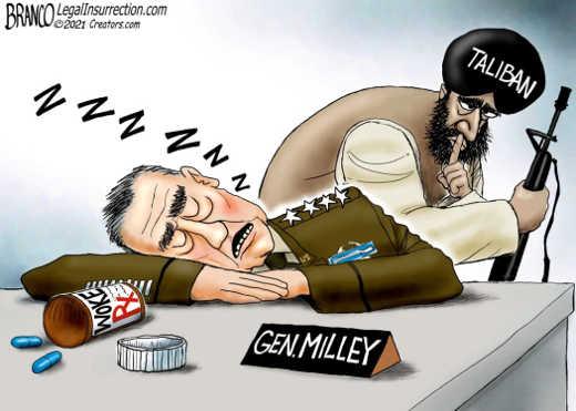 general milley sleeping woke rx taliban guns