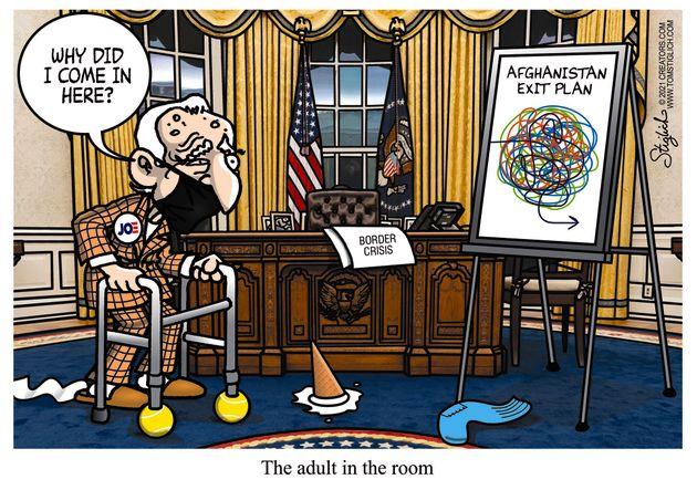 joe biden adult in room afghanistan exit plan
