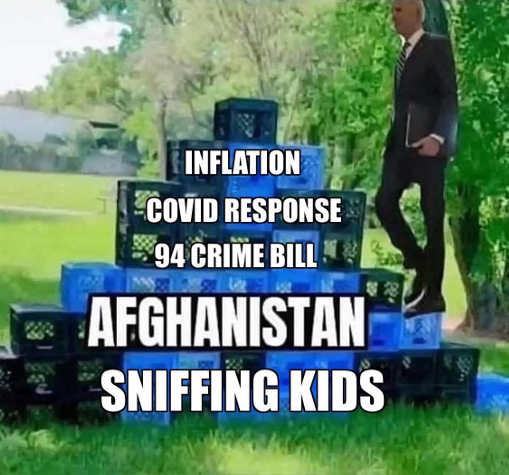 joe biden block challenge inflation covid crime bill afghanistan