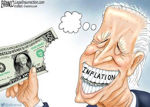 joe biden inflation eating up value of dollar