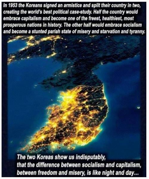 lesson koreas 1953 show differences socialism capitalism