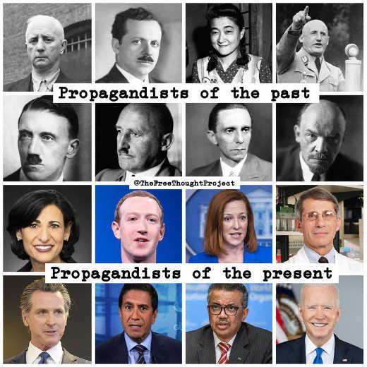 propagandists of the past big tech biden cdc now