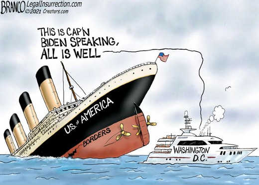 usa boat sinking captain biden all is well dc lifeboat