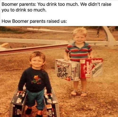 why drink so mich boomer parents carrying cases budweiser