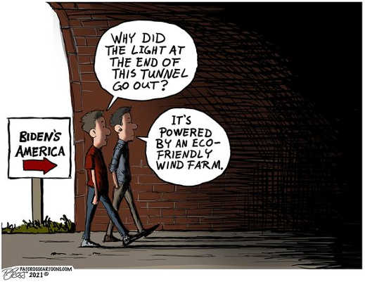 biden america no light at end of tunned powered wind farm