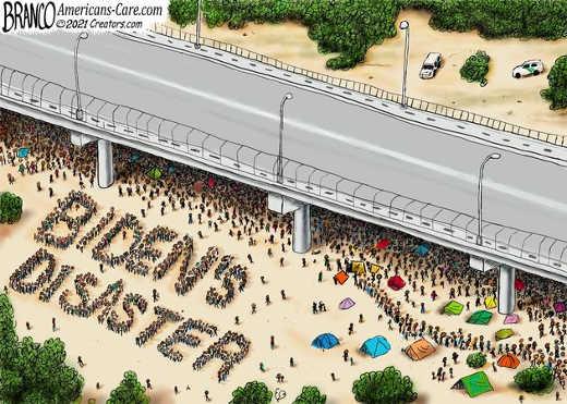 haitian immigrants biden disaster bridge texas