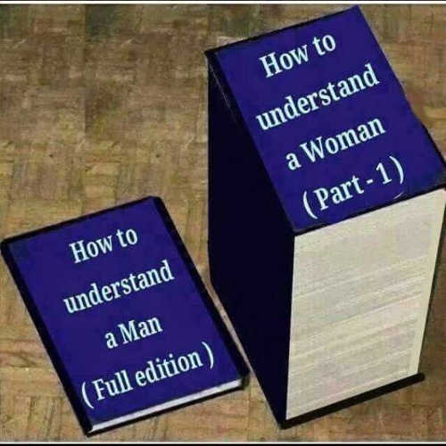 how to understand man full edition woman part 1 books