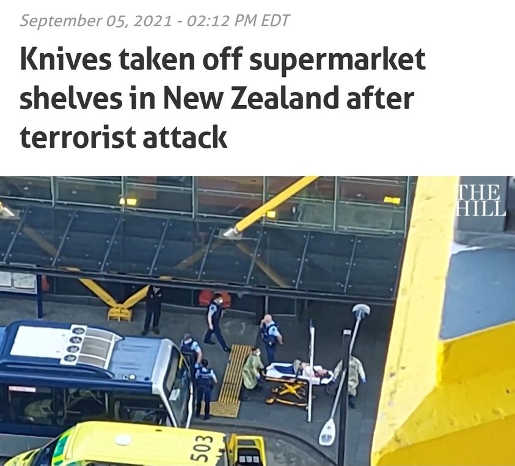knives taken off shelf new zealand after terrorist attack