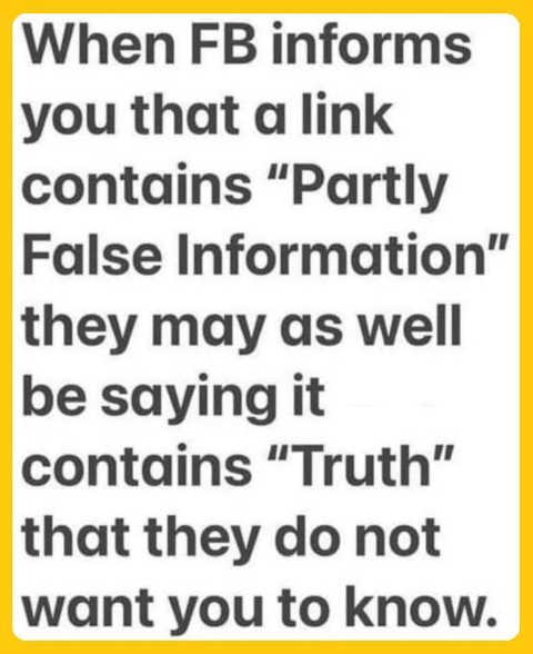 message facebook partly false has truth dont want you to know