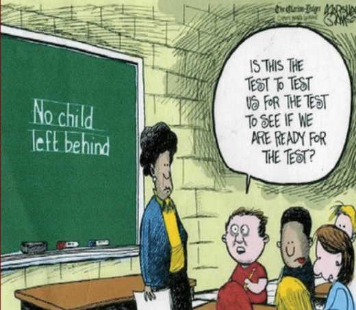 public school no child left behind test ready