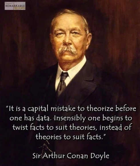 quote conan doyle capital mistake theorize before data facts