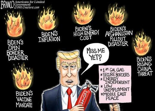 biden inflation energy afghanistan border china miss trump yet