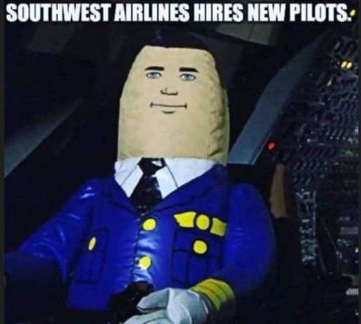 southwest hires new pilots airplane