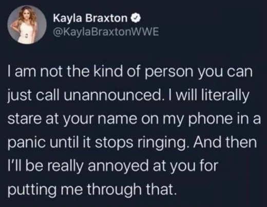 tweet braxton wait ringing hate you for putting me through