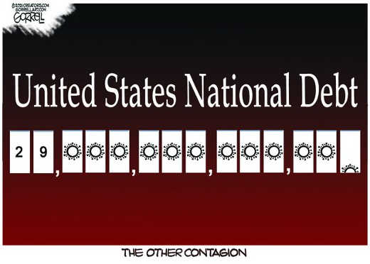 us national debt 29 trillion other contagion