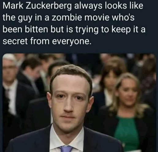 zuckerberg zombie bitten doesnt want anyone know