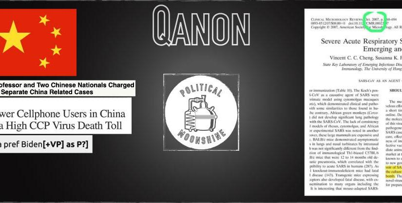 WHAT DOES QANON SAY ABOUT XI, CHINA AND COVID-19 AS A POLITICAL CONSTRUCT? A LOT.