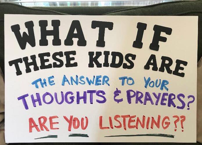Image result for best signs for march for our lives