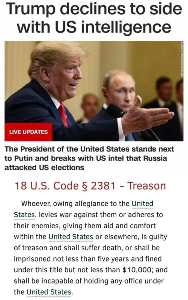 40 Brutal Memes Reacting to Trump's Treason Summit with ...