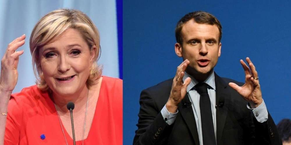 Macron to face Le Pen in French election second round
