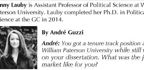 Alum Spotlight: Dr. Fanny Lauby