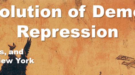 "Comparative Politics Workshop: Harry Blain, ""The Evolution of Democratic Repression: War, Civil Liberties, and Local Politics in New York City,"" Wednesday, October 2, 4:15pm"