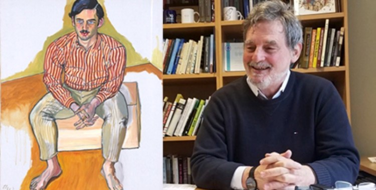 Forever 24: Yes, That is Professor John Mollenkopf Painted by Alice Neel