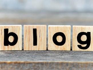 Wooden letters blog